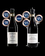 Sordo Barolo and Moccagatta Cole 2016 distributed by Allegro Fine Wines