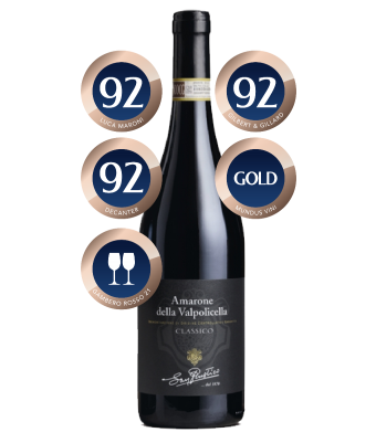 San Rustico Amarone 2015 distributed by Allegro Fine Wines